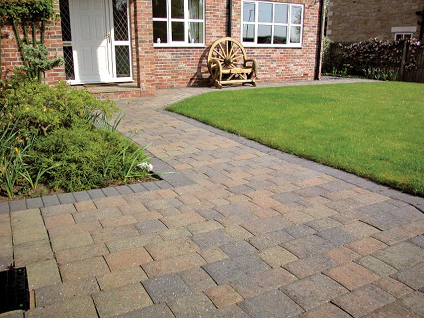 Stone Cobble Path