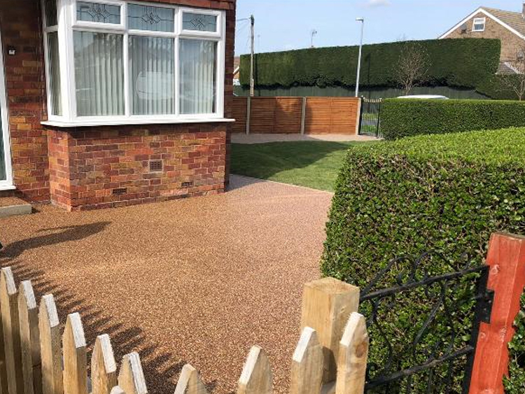 Resin Bound Walkway